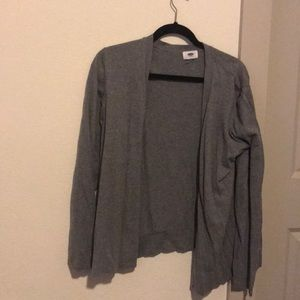 Gray cardigan from old navy
